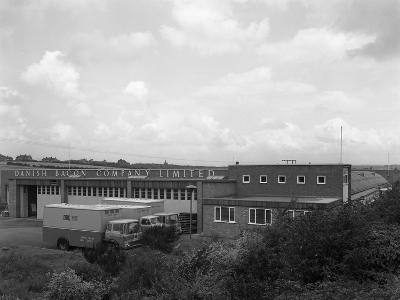 Danish Bacon Company Distribution Depot, Kilnhurst, South Yorkshire, 1963-Michael Walters-Photographic Print