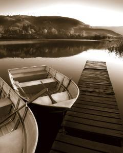 Row Boat Awaits by Danita Delimont
