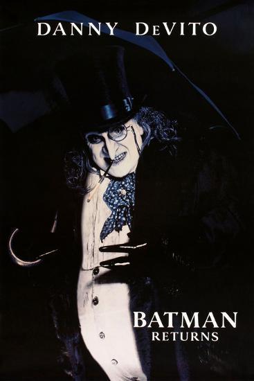 "DANNY DEVITO. ""BATMAN RETURNS"" [1992], directed by TIM BURTON.--Photographic Print"