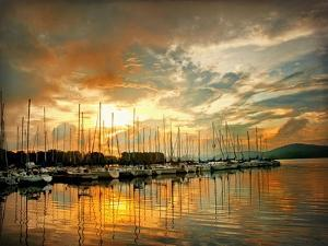 Marina Sunrise II by Danny Head