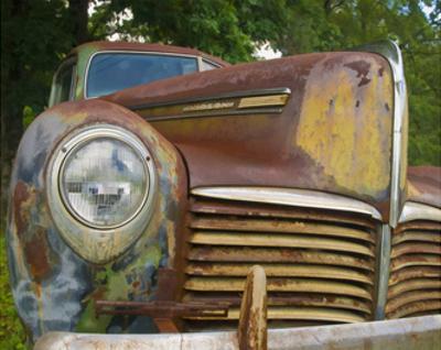 Rusty Hudson I by Danny Head