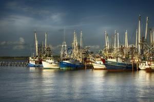 Shrimp Boats I by Danny Head
