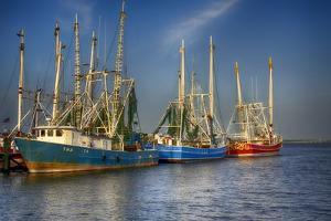 Shrimp Boats III by Danny Head