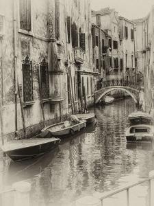 Six Boats Sepia by Danny Head