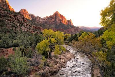 Sunset on the Watchman I
