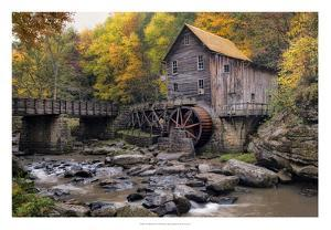 The Mill & Creek I by Danny Head