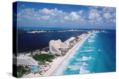 Cancun Beach and Hotels