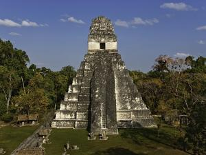 Temple I or Temple of the Giant Jaguar at Tikal by Danny Lehman