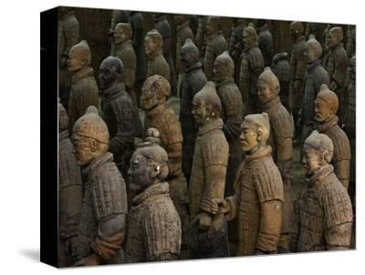 Terracotta Warrior Statues in Qin Shi Huangdi Tomb