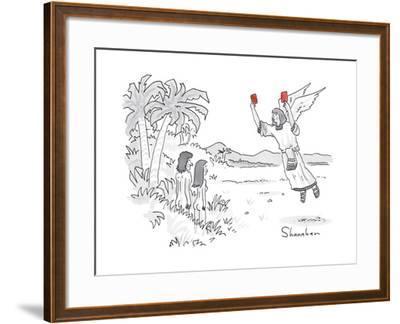 Captionless - New Yorker Cartoon by Danny Shanahan