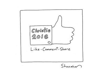 Christie 2016 - Cartoon by Danny Shanahan