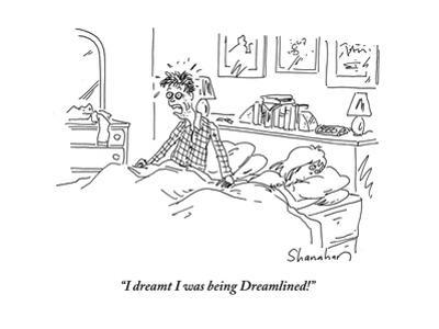 """I dreamt I was being Dreamlined!"" - Cartoon by Danny Shanahan"