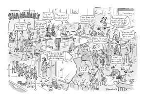 Shanahan's - New Yorker Cartoon by Danny Shanahan