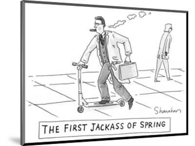 The First Jackass of Spring - New Yorker Cartoon by Danny Shanahan