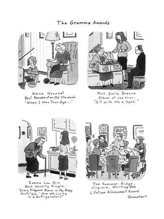 The Gramma Awards - New Yorker Cartoon by Danny Shanahan