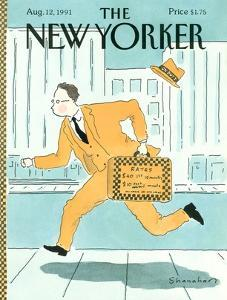 The New Yorker Cover - August 12, 1991 by Danny Shanahan