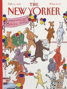 The New Yorker Cover - February 11, 1991 by Danny Shanahan
