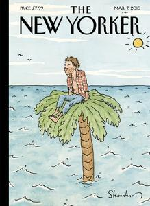 The New Yorker Cover - March 7, 2016 by Danny Shanahan