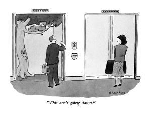 """""""This one's going down."""" - New Yorker Cartoon by Danny Shanahan"""