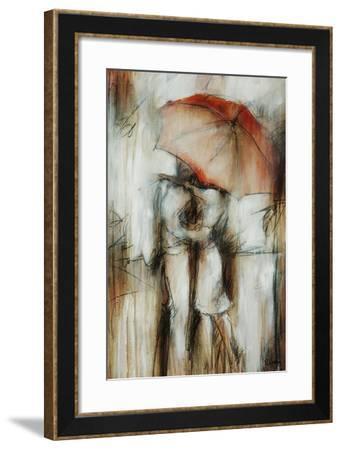 Dans L'amour I-Rikki Drotar-Framed Giclee Print