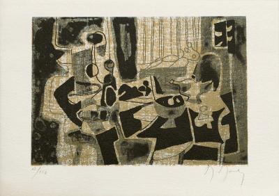 Dans l'atelier-Marcel Mouly-Limited Edition