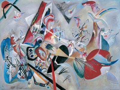 Dans le gris-Wassily Kandinsky-Giclee Print