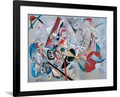 Dans le gris-Wassily Kandinsky-Framed Giclee Print