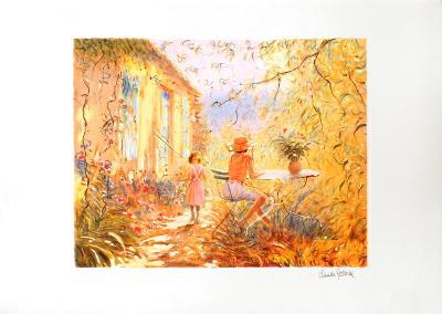 Dans le Jardin-Claude Fossoux-Limited Edition