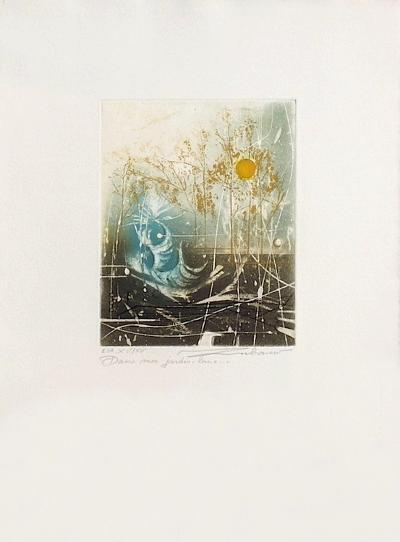 Dans mon jardin-lune--Limited Edition
