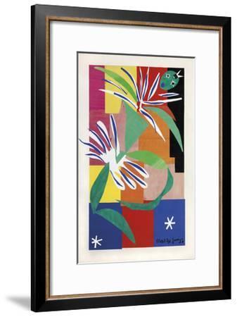 Danseuse Creole-Henri Matisse-Framed Art Print