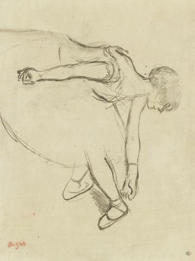 Danseuse en quatrième position-Edgar Degas-Giclee Print