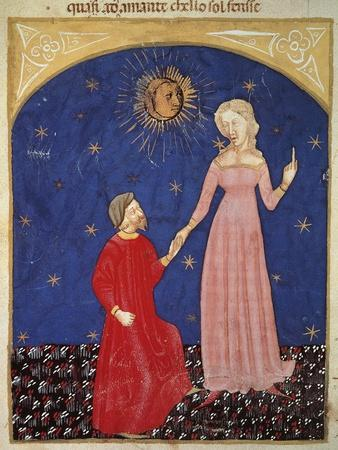 Beatrice Leading Dante, Paradise Scene from Divine Comedy