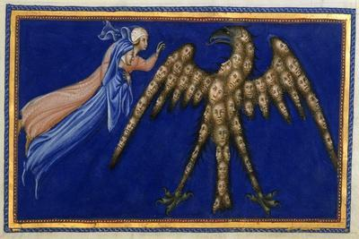 Dante and Beatrice Before the Eagle Of Justice
