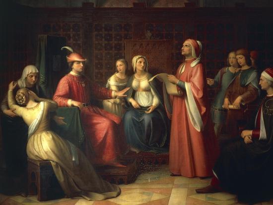 Dante Alighieri--Giclee Print