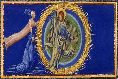 Dante and Beatrice Before Christ the Redeemer-Dante Alighieri-Giclee Print