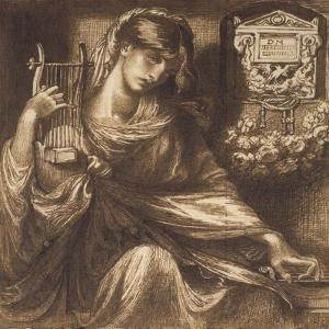 A Roman Widow, 19th Century by Dante Gabriel Charles Rossetti