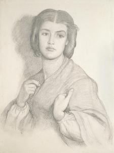 Portrait of a Woman by Dante Gabriel Charles Rossetti