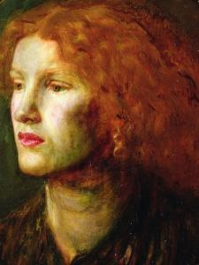 Portrait of Fanny Cornforth, C.1860 by Dante Gabriel Charles Rossetti