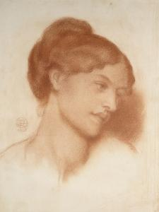Portrait of Mrs Murray Marks, 1868 by Dante Gabriel Charles Rossetti
