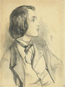 Portrait of William Michael Rossetti by Dante Gabriel Charles Rossetti