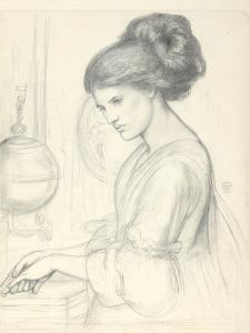 Study for 'Washing Hands', 1865 by Dante Gabriel Charles Rossetti