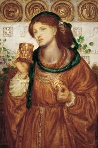 The Loving Cup, C.1867 by Dante Gabriel Charles Rossetti