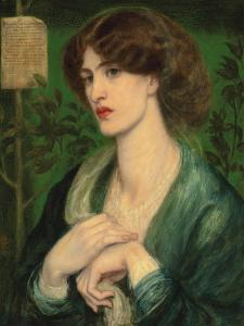 The Salutation of Beatrice, 1869 by Dante Gabriel Charles Rossetti