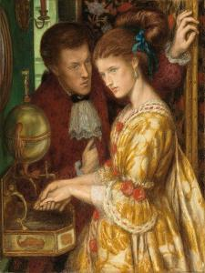 Washing Hands, 1865 by Dante Gabriel Charles Rossetti