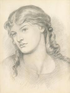 Alexa Wilding, 1865 by Dante Gabriel Rossetti