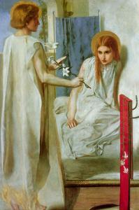 Annunciation by Dante Gabriel Rossetti