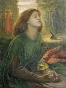 Beata Beatrix by Dante Gabriel Rossetti