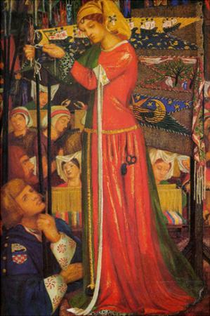 Before the Battle by Dante Gabriel Rossetti