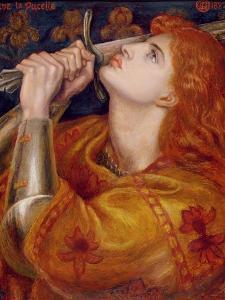 Joan of Arc, 1882 by Dante Gabriel Rossetti