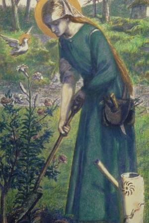 Mary Nazarene by Dante Gabriel Rossetti